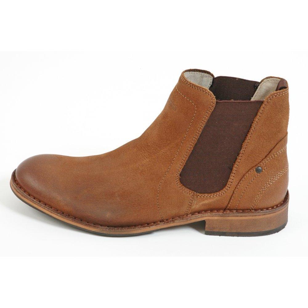 camel active lagos boot men 39 s pull on boot leather upper. Black Bedroom Furniture Sets. Home Design Ideas