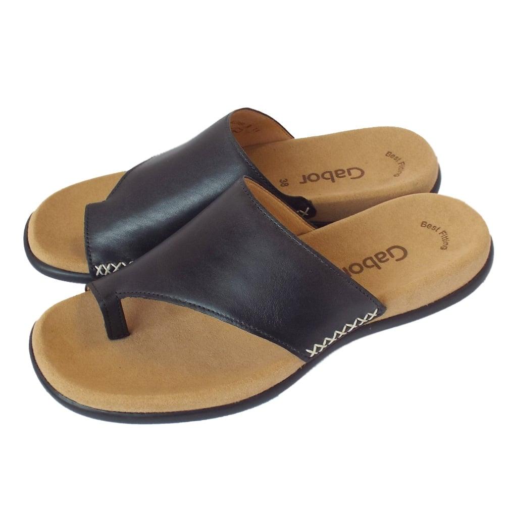 Gabor Sandals Lanzarote Womens Summer Sandals In Black