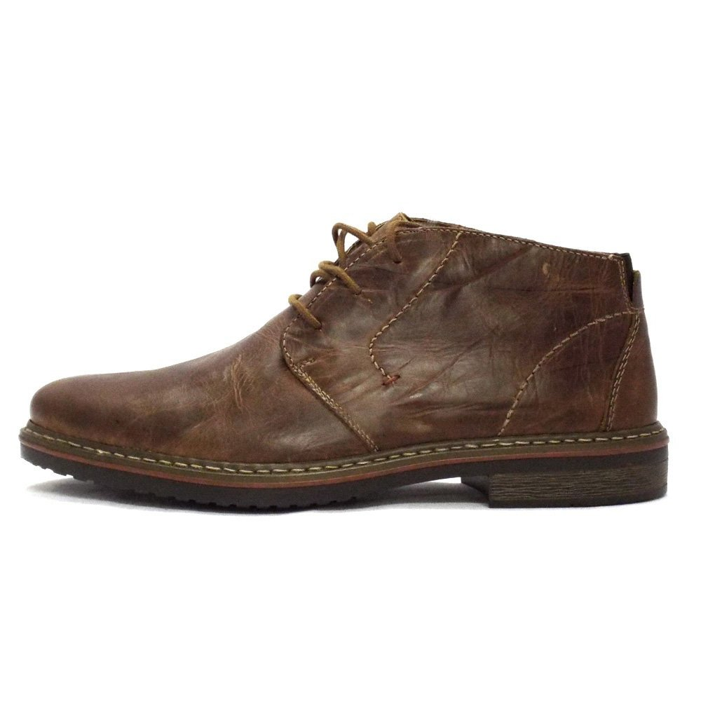 Mens Brown Leather Boots | Santa Barbara Institute for ...