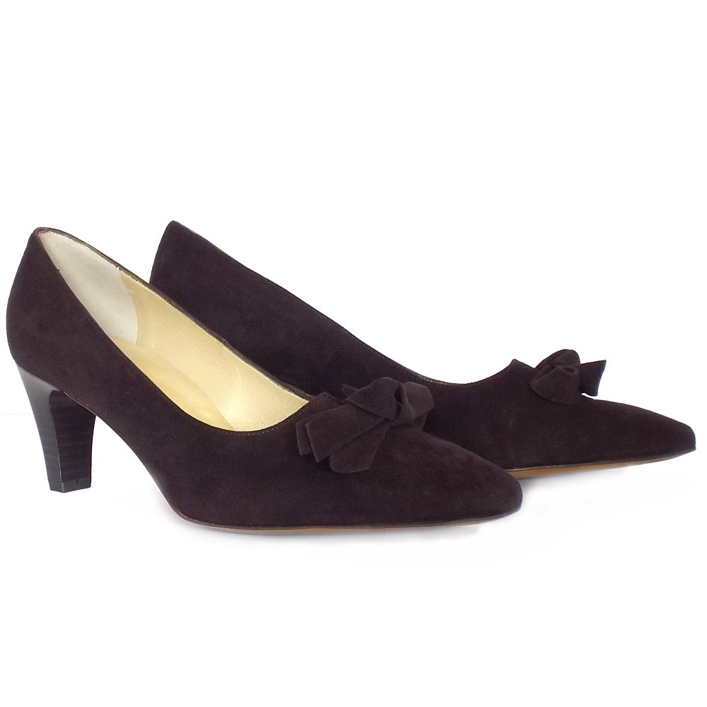 More Details Corthay Arca Suede Lace-Up Shoe, Dark Brown Details Corthay iconic