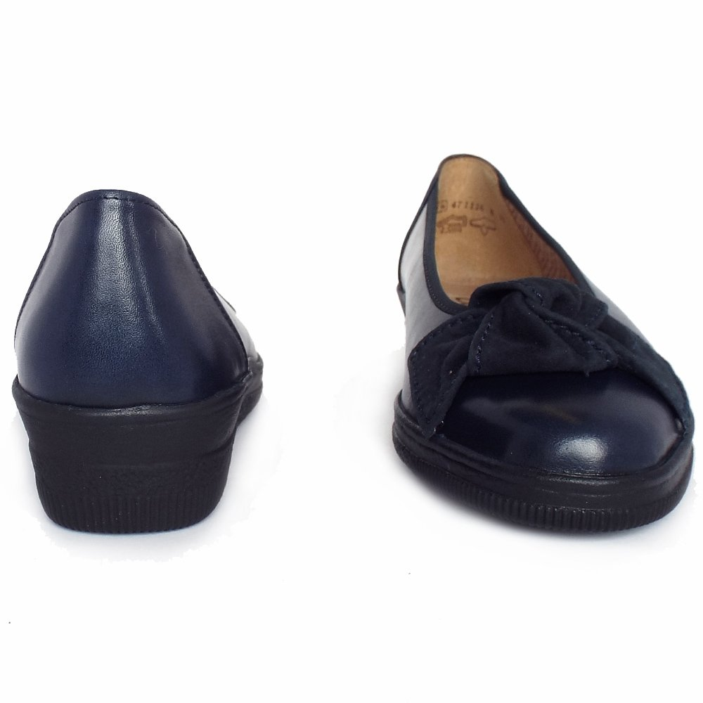 gabor shoes lesley womens low wedge shoe in