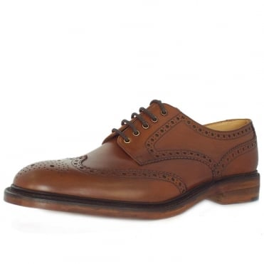 Loake Chester Derby Shoes in Mahogany