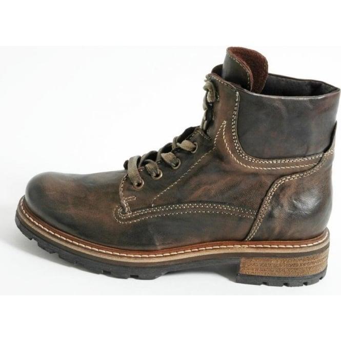 ddb1efc1b542 Lorella Women  039 s casual leather short boot