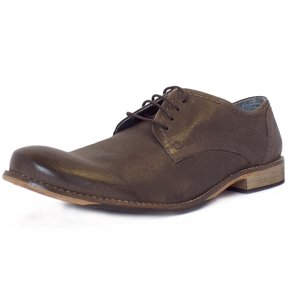 lotus handley s casual lace up shoes in khaki