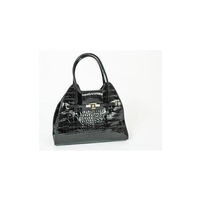 3858a83888 Luana Ferracuti Luana Ferracuti Borsa 181 Women s leather croc effect  handbag