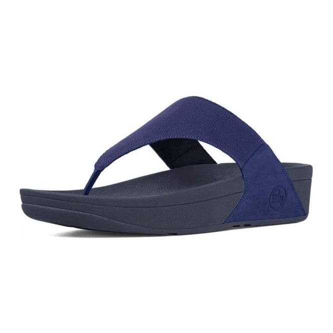 502f16d49b2369 Lulu™ Canvas Toe Thong Sandal in French Navy