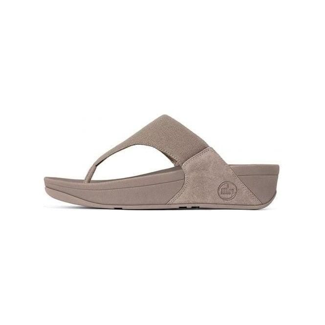 82d1a7d3a58963 Lulu™ Canvas Toe Thong Sandal in Mink