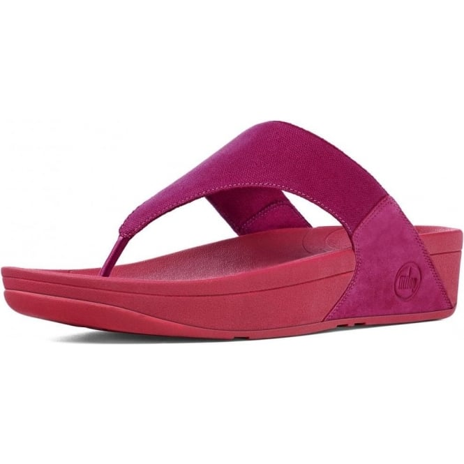 807a4da30918 Lulu™ Canvas Toe Thong Sandal in Rio Pink