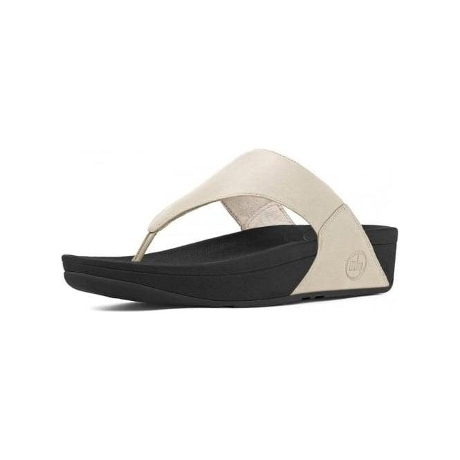 7e7c8e6c2a8140 Lulu™ Leather Toe Thong Sandal in Antique White