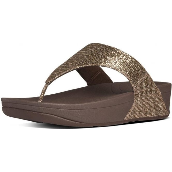 b87c55845969 Lulu™ Superglitz Women  039 s Toe Thong Sandals in Bronze