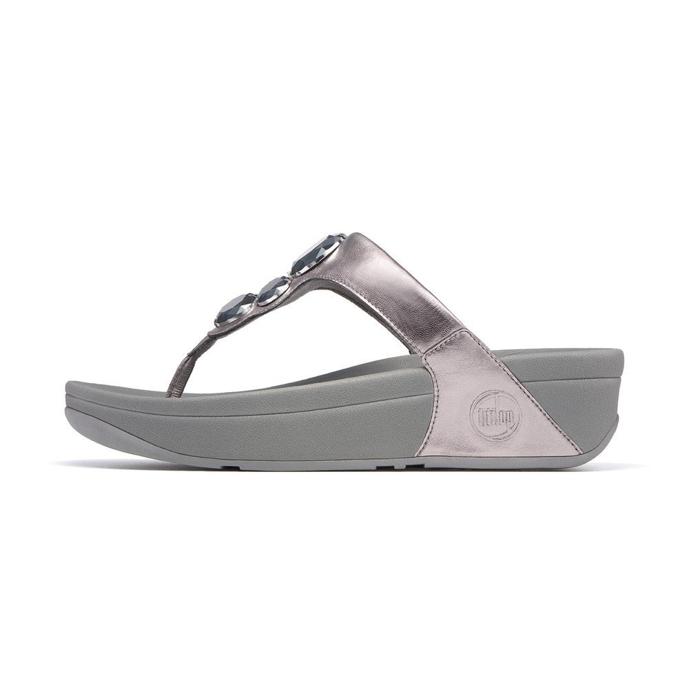 lunetta pewter fitflop