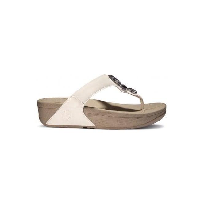 0b2b06af628afe Lunetta womens sandals in white