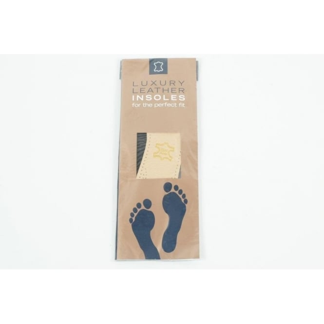Shoe String Luxury leather insoles for the perfect fit