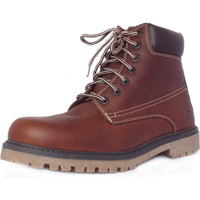 mens leather walking boots uk
