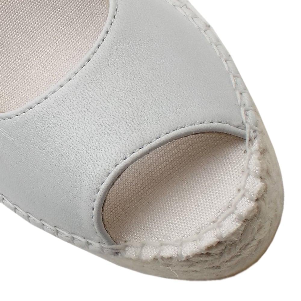 499ac9612d6 Vidorreta Mendoza Low Wedge Espadrilles in White