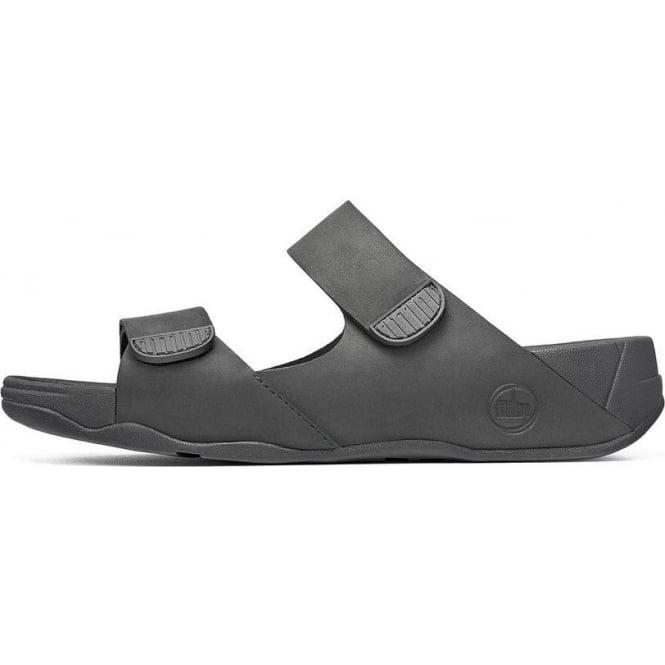 409eae0d5c1abf Men  039 s Gogh Slide II two-bar adjustable sandals in black leather