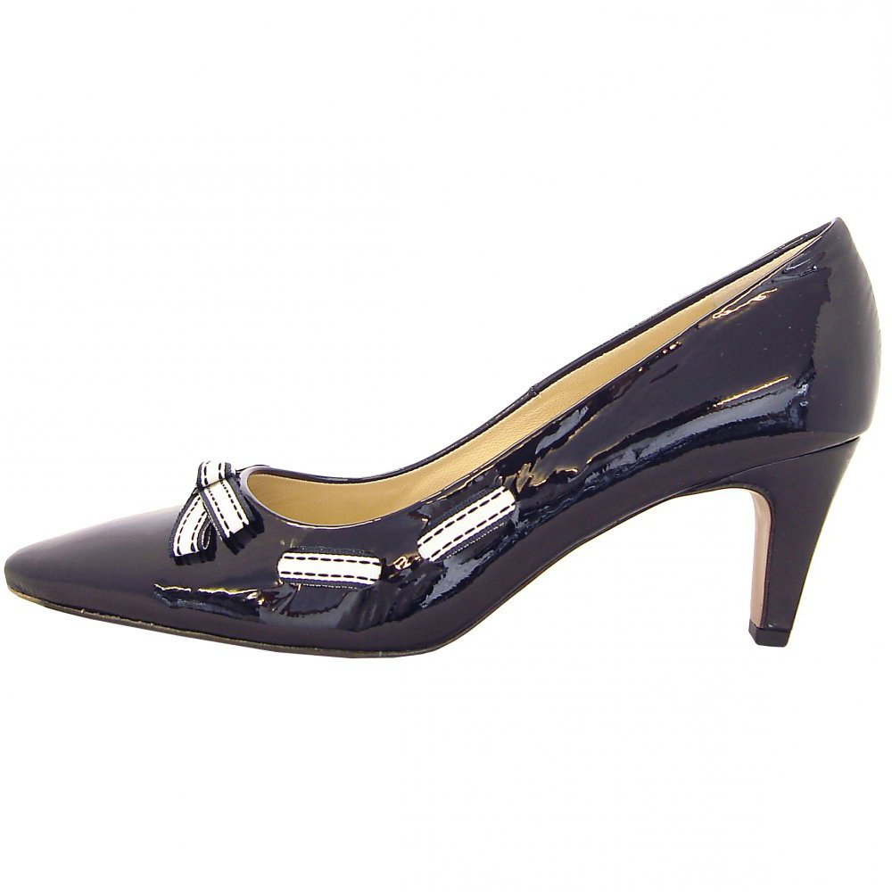 Pointed Toe, Court Shoes, Notte Navy
