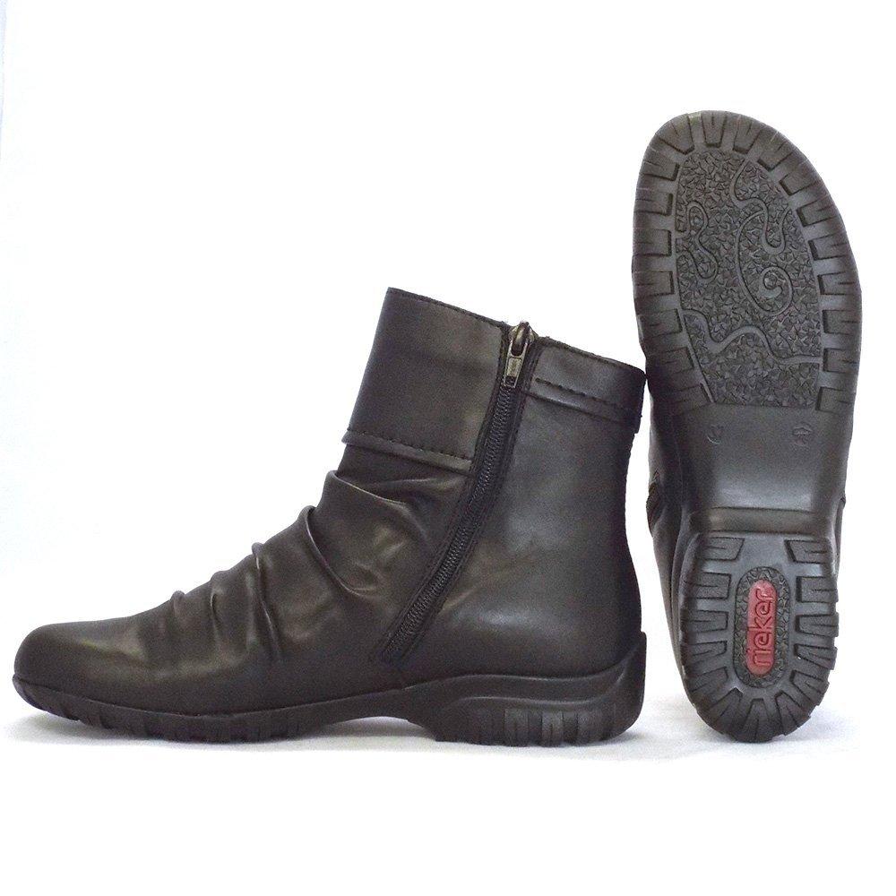 Simple Panama Jack Womens Brown Waterproof Ankle Boots