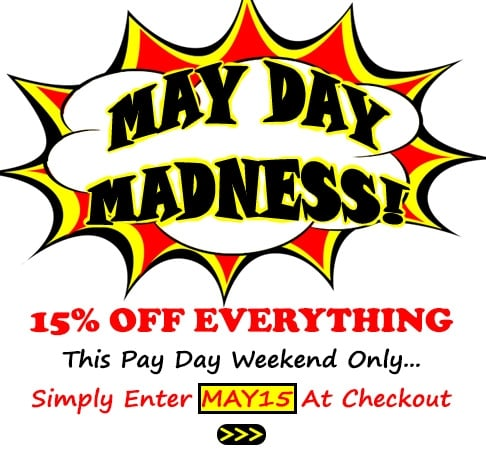 May Day Madness!