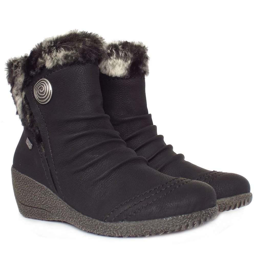 Rieker Mombasa | Women's Comfortable Winter Ankle Boots | Mozimo