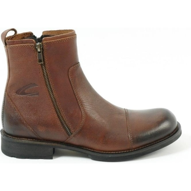 7142c10996 Camel Active Camel Active Nevada Botham 309.13.02 men's smart boot in  brandy leather