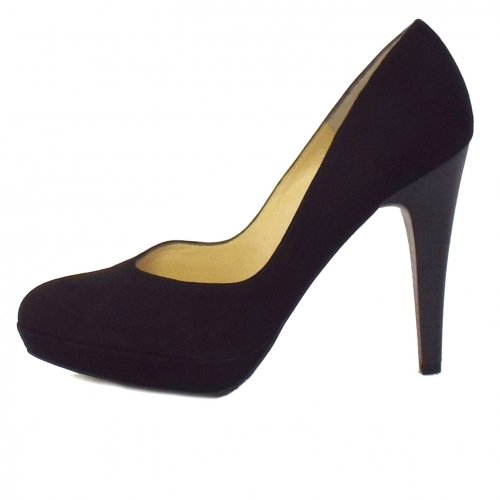 new concept 72a31 1a9ab Peter Kaiser New York Ladies Stiletto in Black Suede