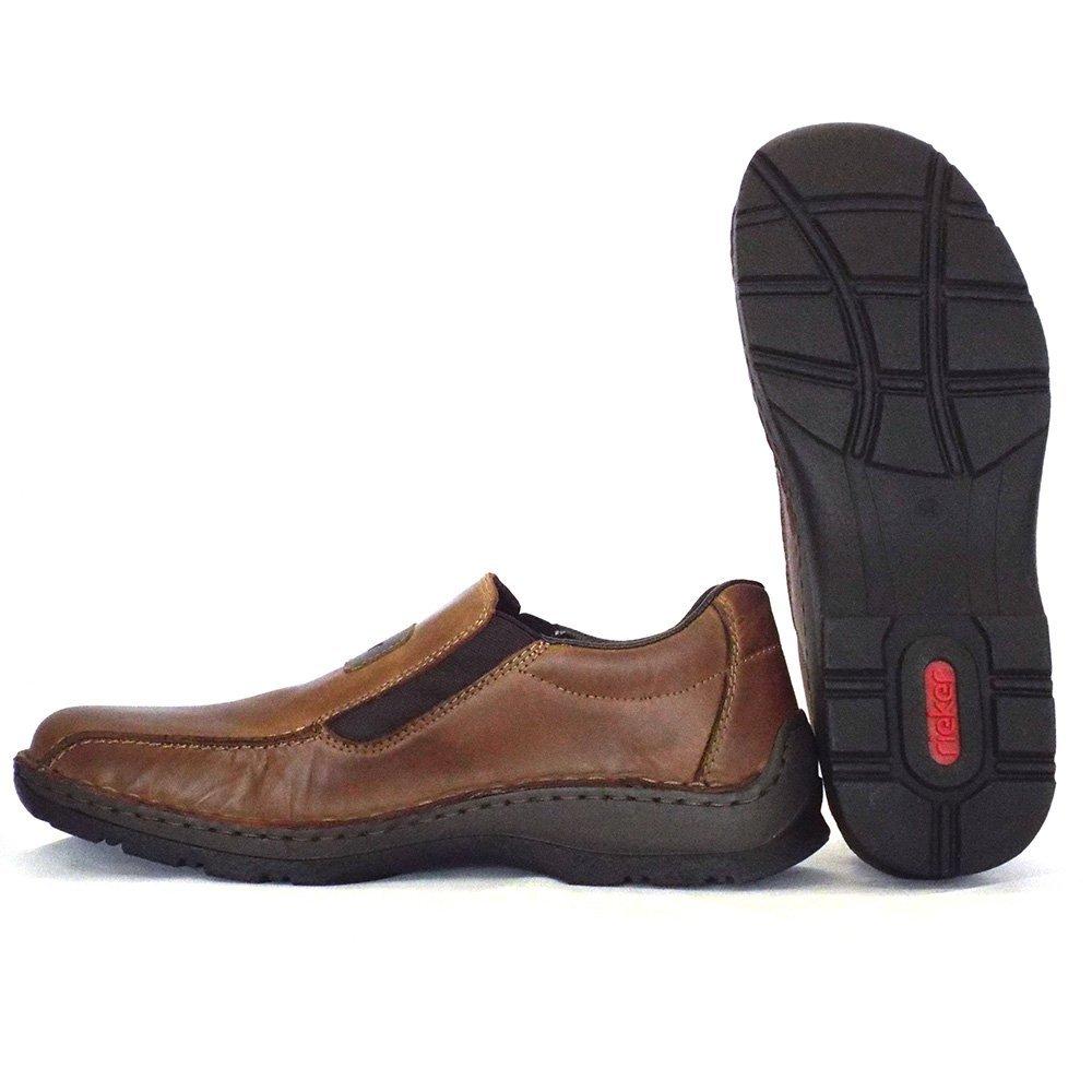 Rieker Noel 05364-26 | Mens Slip On Shoe In Brown Leather