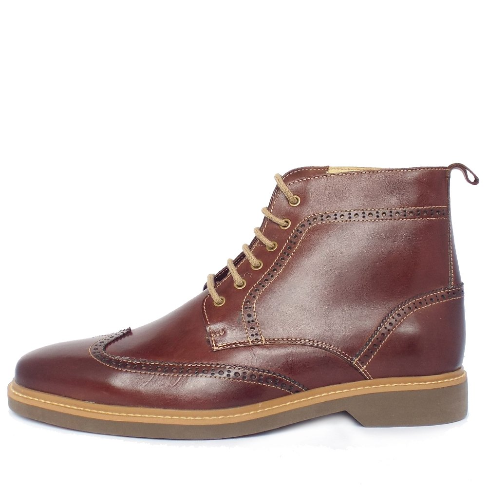 anatomic co s smart casual lace up brogue boots