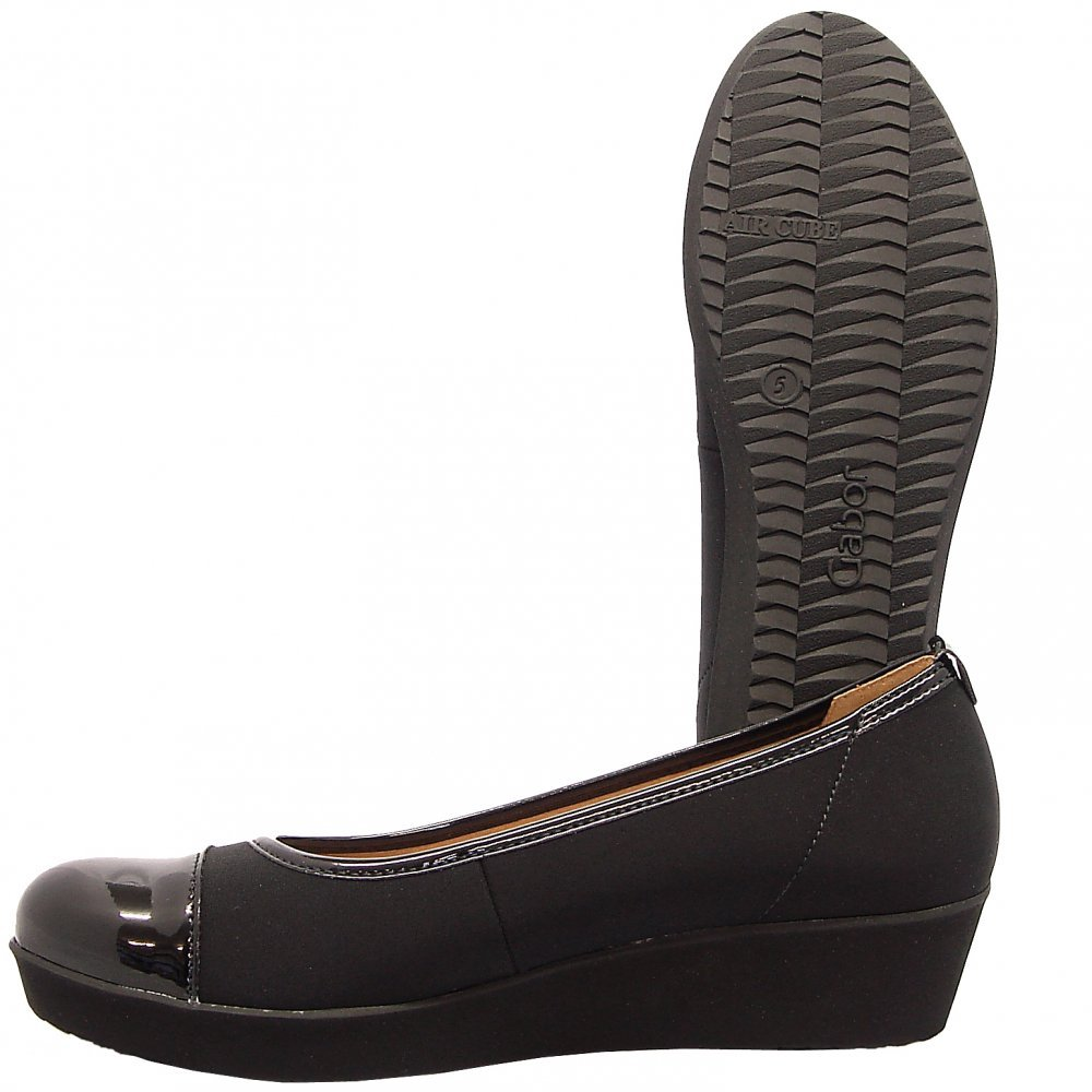 Gabor Orient Pump Shoes Black