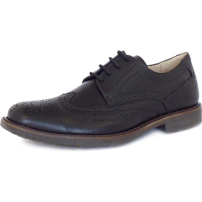 Anatomic&Co Palma Men's Lace-Up Brogues in Black