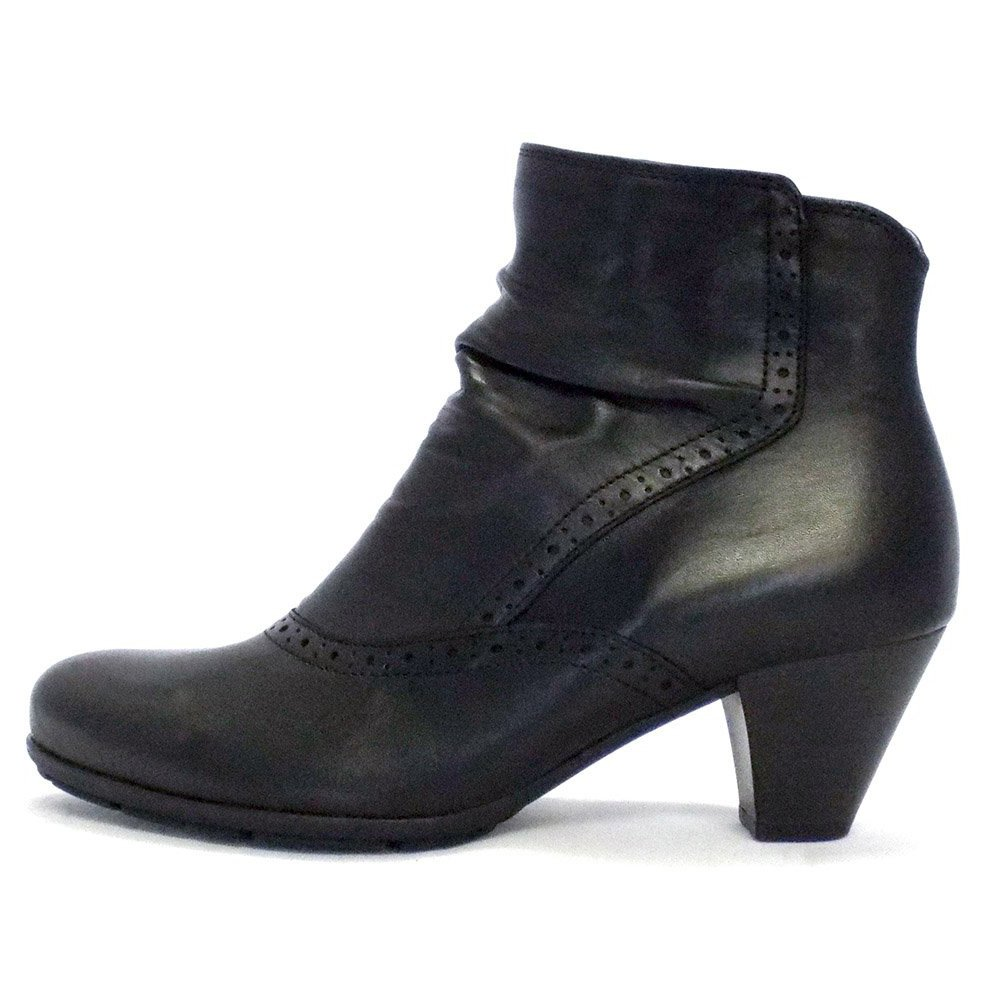 Gabor Boots | Pang Ladies Ankle Boot in Black | Mozimo
