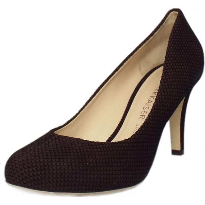 Peter Kaiser Pascale Court Shoe in Nuba Moon Suede