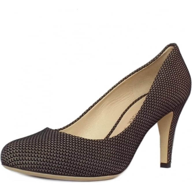 Peter Kaiser Pascale Court Shoe in Taupe Moon Suede
