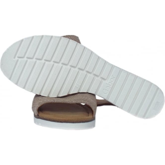 c7fed119f75 Penny Modern Wedge Ankle Strap Sandal in Silk
