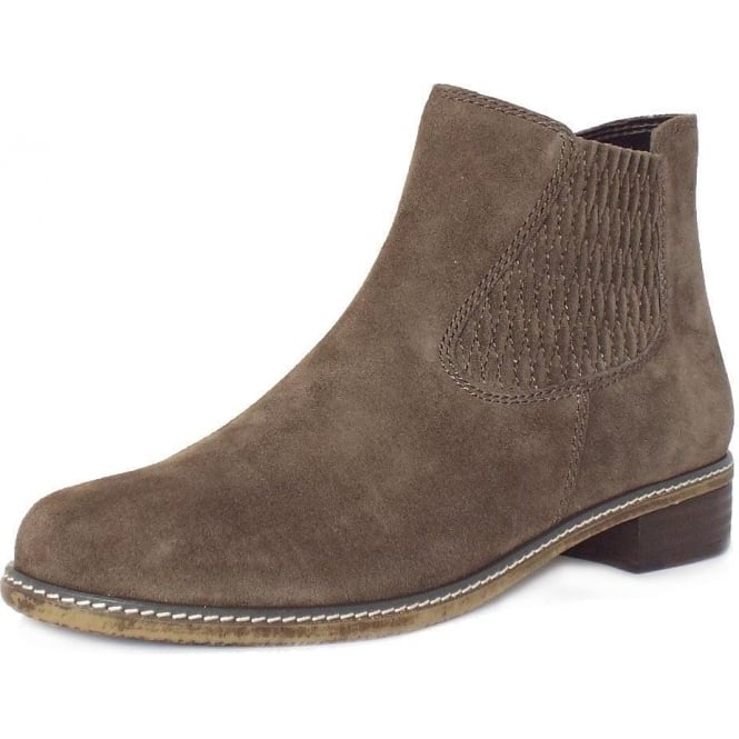 4e53ae0cdf27 Pescara Modern Wider Fit Ankle Boot in Anthracite Grey Suede