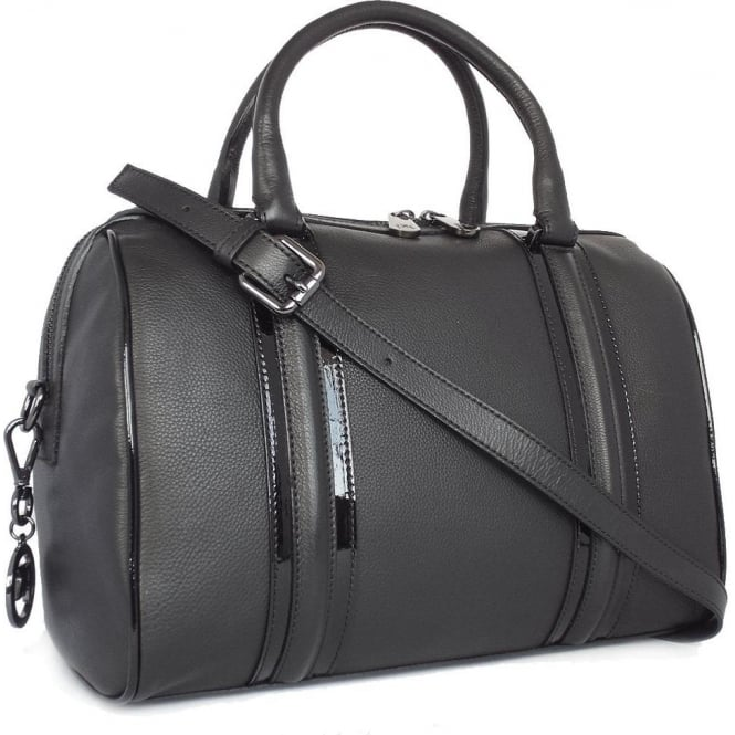 Peter Kaiser Adelena Women's Smart Casual Bowler Handbag in Black