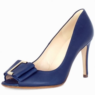 Akira Women's High Heel Court Shoes In Opal Blue
