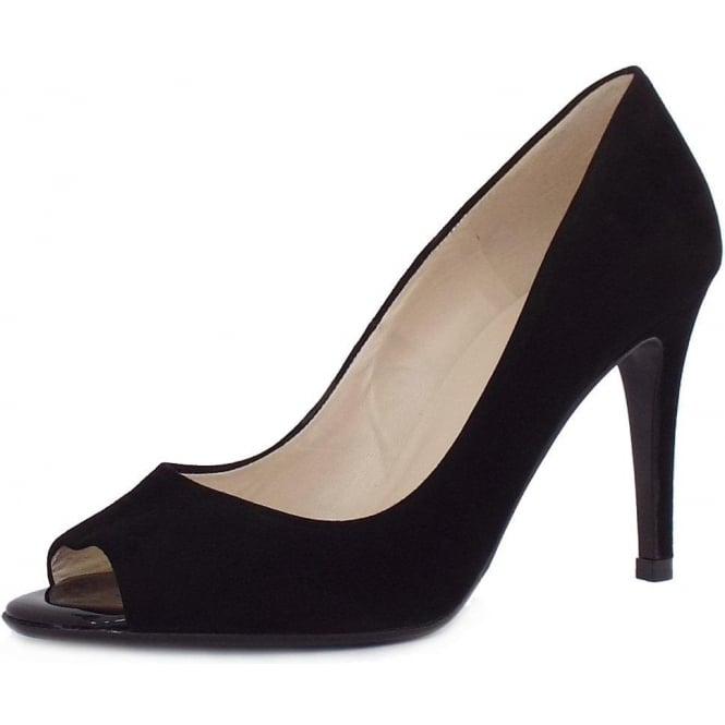 Peter Kaiser Anna Women's Elegant Peep Toe Stiletto Heel Court Shoes