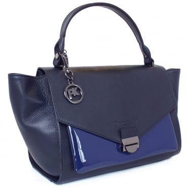 Astra Women's Designer Handbag In Navy