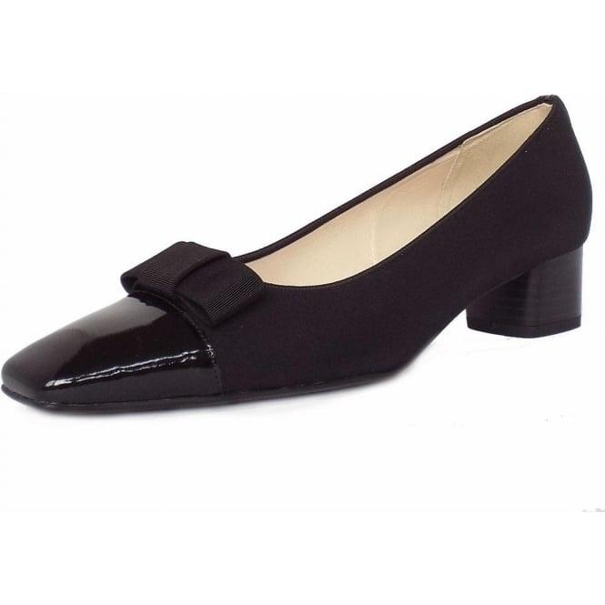 3a5d692aa50f Beli low heel court shoes in black