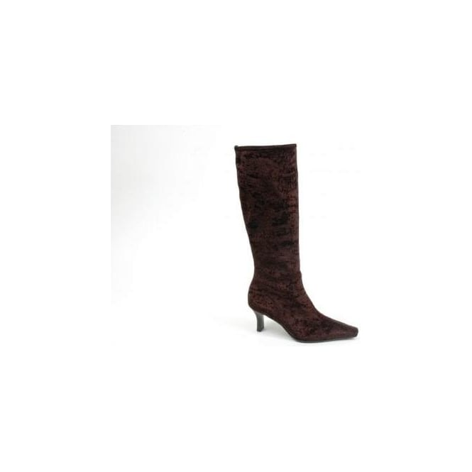 e13983049edb Peter Kaiser Belli l Women s velvet upper knee high boot l stretch ...