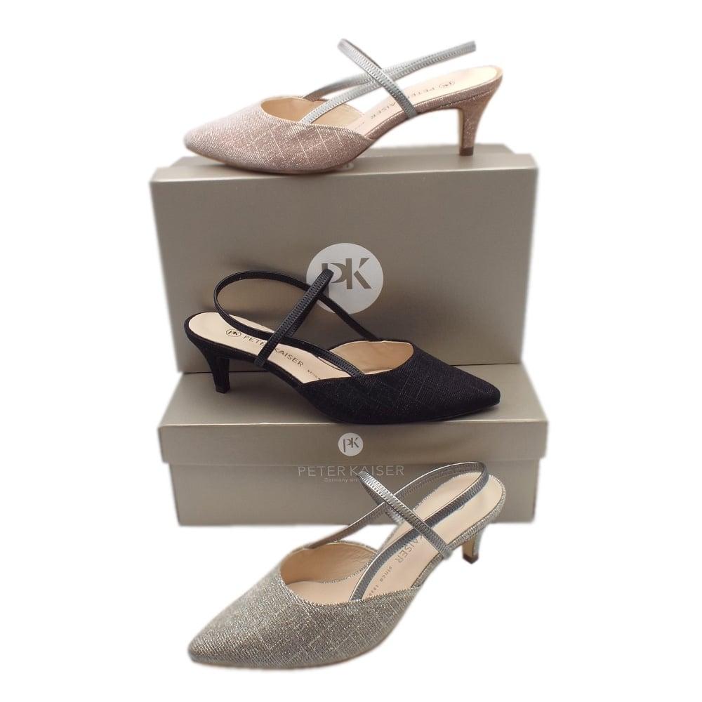 c47bcca174df Calina Women  039 s Dressy Low Heel Sandals in Sand Shimmer