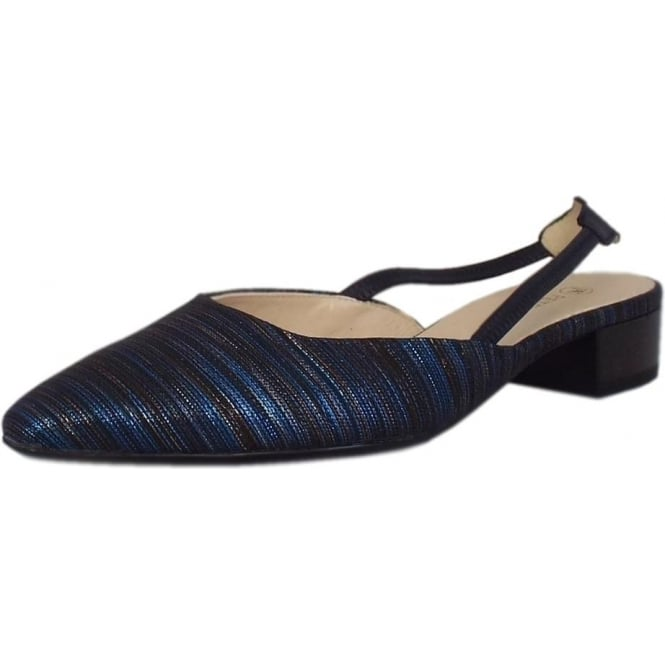 Peter Kaiser Castra Women's Dressy Low Heel Sandals in Notte Atamante