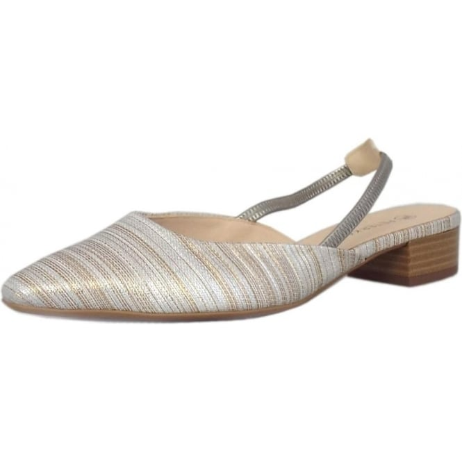 Peter Kaiser Castra Women's Dressy Low Heel Sandals in Sabbia Atamante