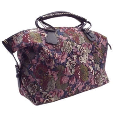 Egenta Fashion Handbag in Multi Flower