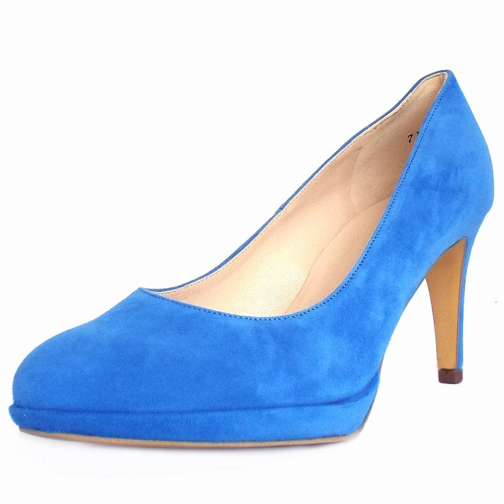 kaiser konia s trendy mid heel court shoe in