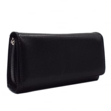Lanelle Clutch Bag In Black Cube