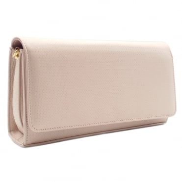 Lanelle Clutch Bag In Powder Pin