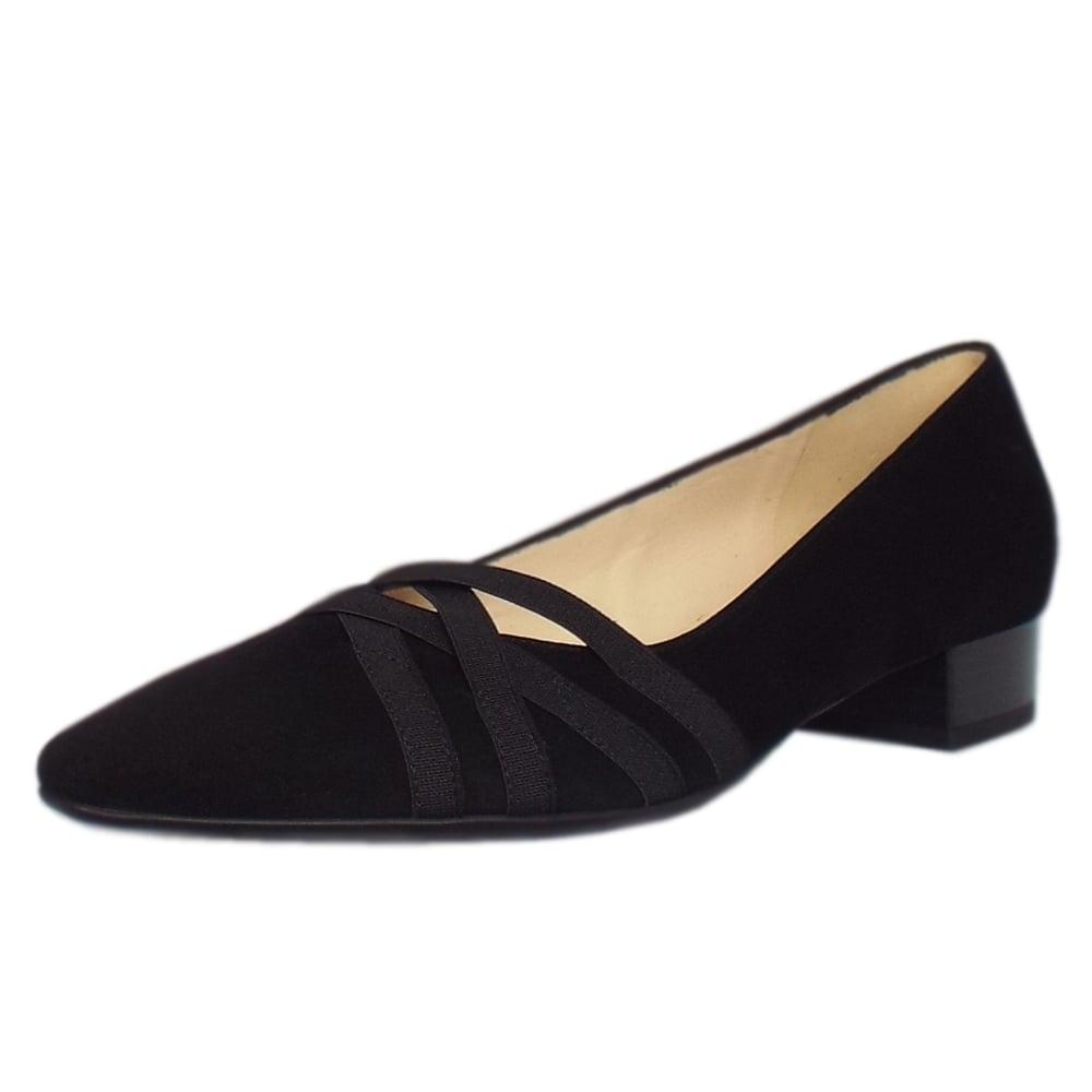 kaiser liesel s low heel shoes in black