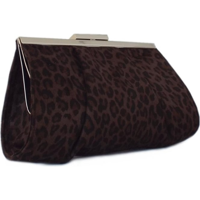 0a4cb07879 Peter Kaiser Peter Kaiser Lomasi Women's Evening Clutch Bag in Animal Print  Suede